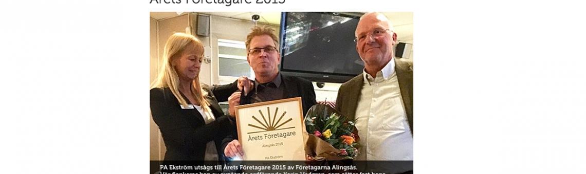 Årets företagare 2015
