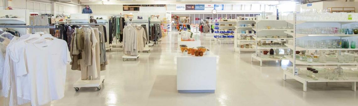 Sveriges största Second Hand-butik byggs i Alingsås